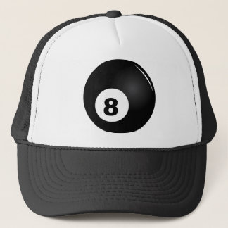 8 Ball trucker cap black
