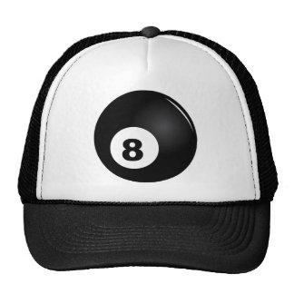 8 Ball trucker cap black