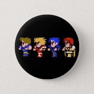 8-bit 6 cm round badge