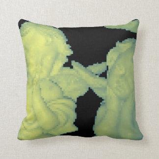 8-bit angels pillow