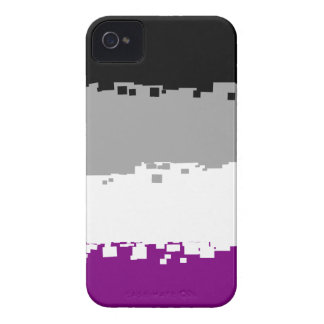 8 Bit Asexual Pride Flag Case-Mate iPhone 4 Cases