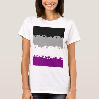 8 Bit Asexual Pride Flag T-Shirt
