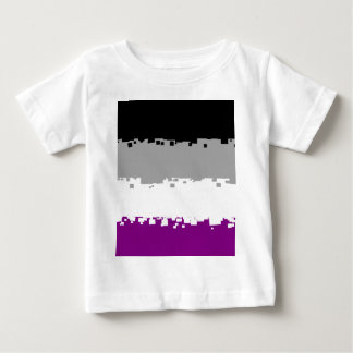 8 Bit Asexual Pride Flag T-shirts