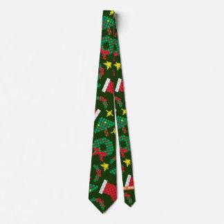 8-Bit Christmas Tie