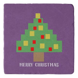 8-bit Christmas Trivet