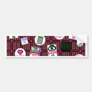 8 Bit Geek Bumper Sticker