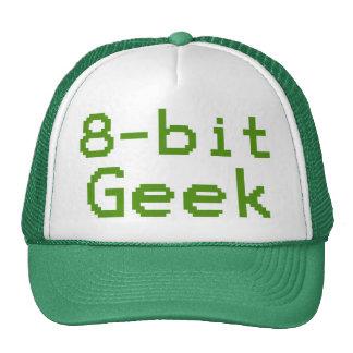 8-bit Geek Humorous Nerd Cap