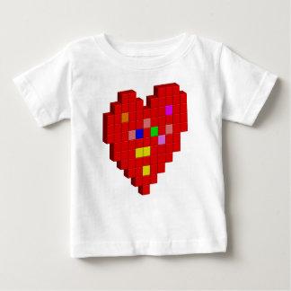 8-Bit Heart Baby T-Shirt
