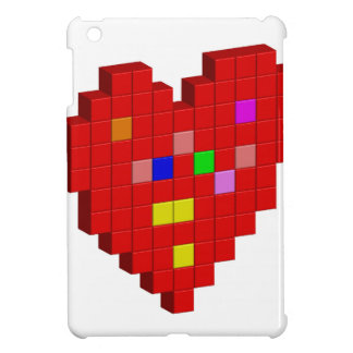 8-Bit Heart Case For The iPad Mini