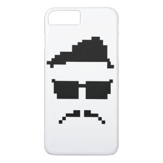 8-bit hipster iPhone 7 plus case
