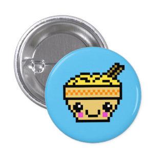 8 Bit Kawaii Ramen 3 Cm Round Badge