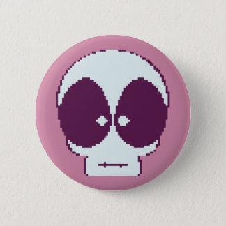 8-Bit Kid Death 6 Cm Round Badge
