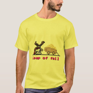 8-bit Leap of Fail T-Shirt