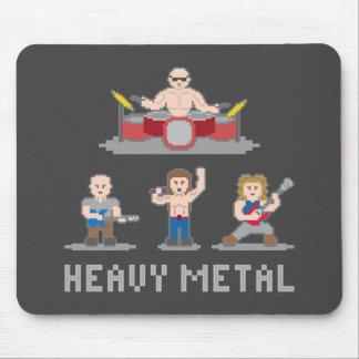 8 Bit Metal Band Mousepad