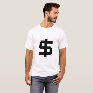 8 Bit Money - White T T-Shirt
