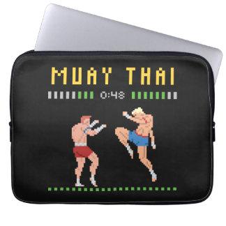8-Bit Muay Thai Laptop Sleeve