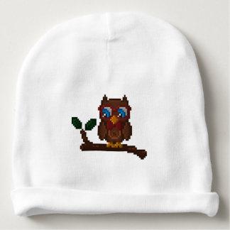 8-Bit Owl Baby Hat Baby Beanie