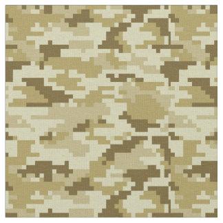 8 Bit Pixel Desert Camouflage / Camo Fabric