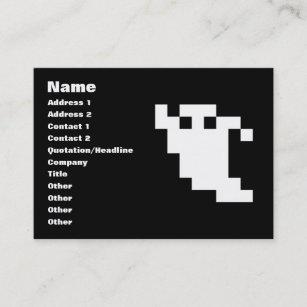 Pixelated 8 Bit Business Cards Zazzle Au