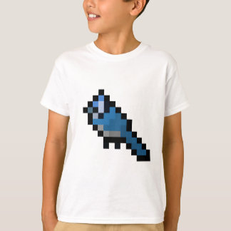 8-Bit Retro Bluejay T-Shirt
