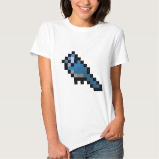 8-Bit Retro Bluejay T-shirts