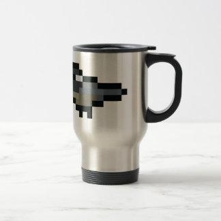 8-Bit Retro Chickadee Travel Mug