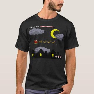 8-Bit Santa T-Shirt