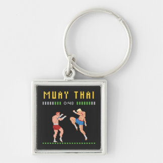 8-Bit Thai Boxing Key Ring