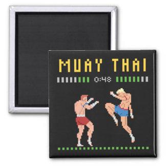 8-Bit Thai Boxing Magnet