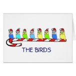 8 Budgies Card