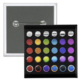 8-ColourfulGlossy Pin