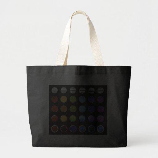 8-ColourfulGlossy Canvas Bag
