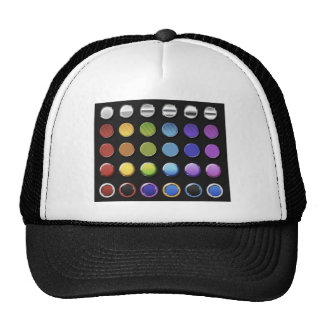 8-ColourfulGlossy Trucker Hat