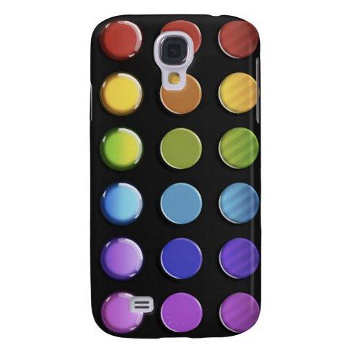 8-ColourfulGlossy Samsung Galaxy S4 Cover