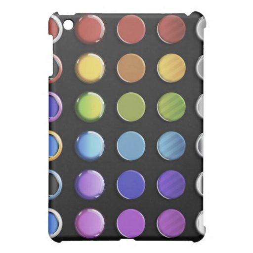 8-ColourfulGlossy iPad Mini Cover