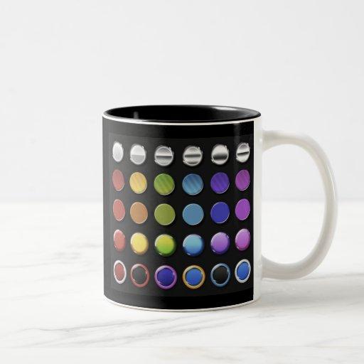8-ColourfulGlossy Coffee Mug