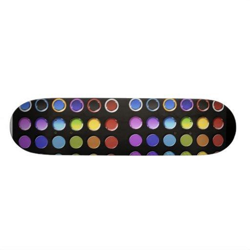 8-ColourfulGlossy Skate Decks