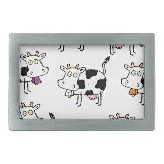8 Cow Woman Belt Buckles