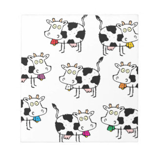 8 Cow Woman Notepad