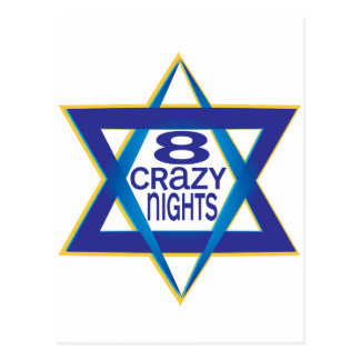 8 Crazy Nights Postcard