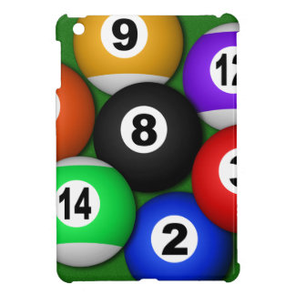 8 Eight Ball Pool Balls Billiards iPad Mini Cases