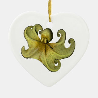 8 Feet at Sea Ceramic Heart Decoration