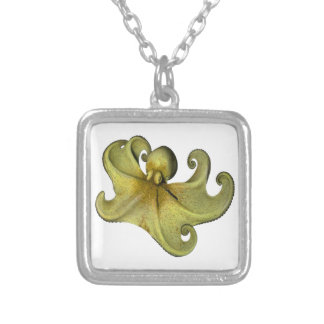 8 Feet at Sea Silver Plated Necklace