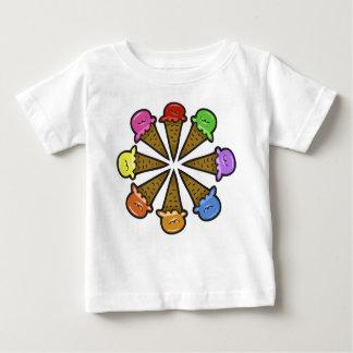 8 Ice Cream Cones #1 Baby T-Shirt