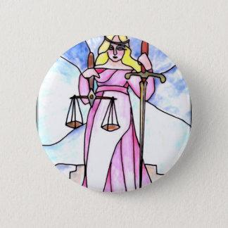 8 - Justice 6 Cm Round Badge