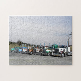 8 Kenworth W900As Puzzle