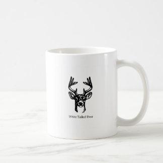 8 Point Buck White Tail Deer Coffee Mug