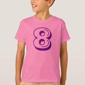 8 shirt