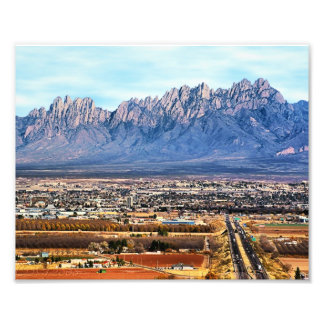 """8""""x10"""" Greetings from Las Cruces Photo Print"""