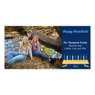 "8""x4"" Hanukkah Photocard Picture Card"